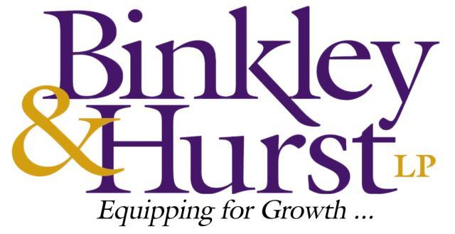 Binkley & Hurst, Lp