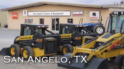 San Angelo Tractor