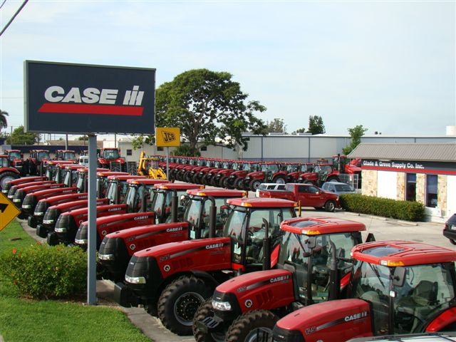 Case Tractor Showroom : Glade grove corp belle fl authorized dealer